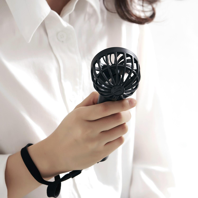 ポータブル扇風機 卓上扇風機 充電式 ストラップ